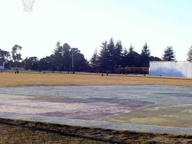 Cricket ground in Chail
