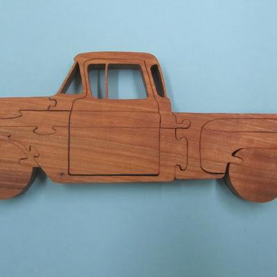 "3/4""  Cherry  Pattern by Eric Van Malderen Scrollsaw Woodworking and Crafts #64"