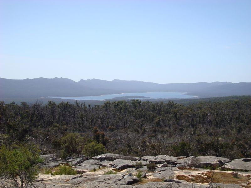 Lake Wartook in the distance