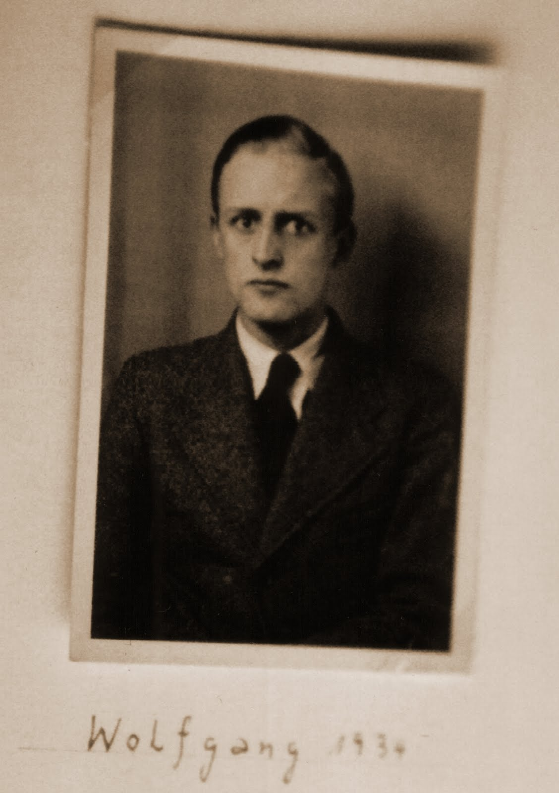 Portrait of Wolfgang Wolff, 1934