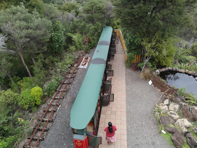 "The train from the ""Eyeful Tower"""