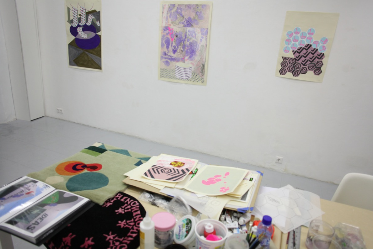 Michelle Weinberg: Open studio.