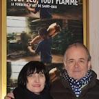Eliane Gervasoni (attachée de presse) et Iwan Schumacher (réalisateur du documentaire