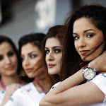 Force India pit girls