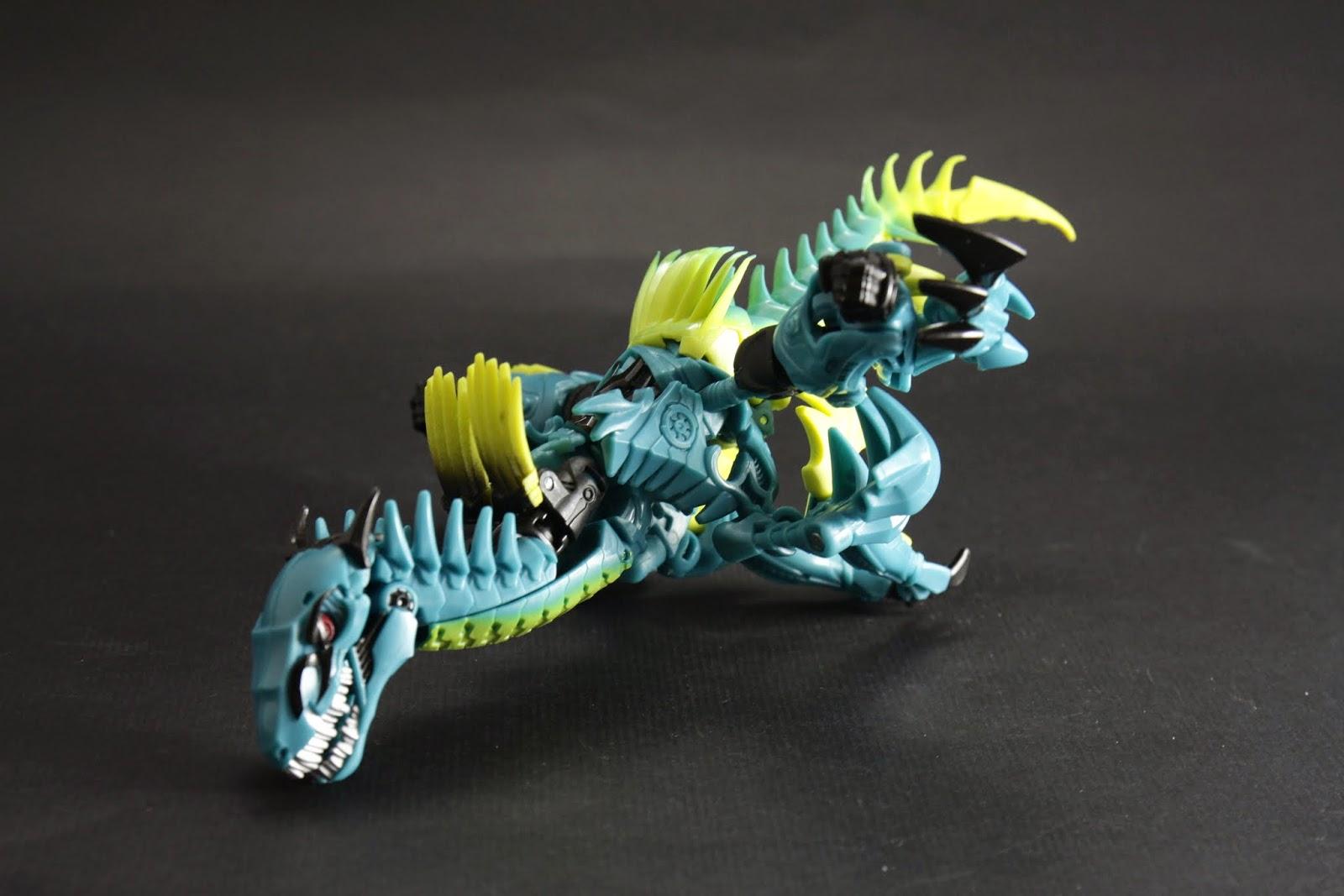 恐龍手跟身體往後折