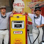 Fernando Alonso & Felipe Massa Shell promotion