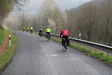 Morning mist on the ride to Trier