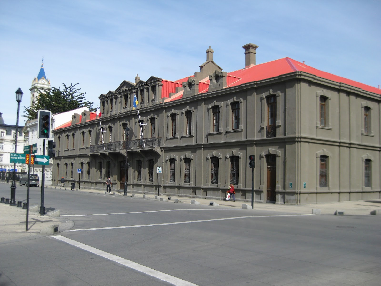 Government buildings