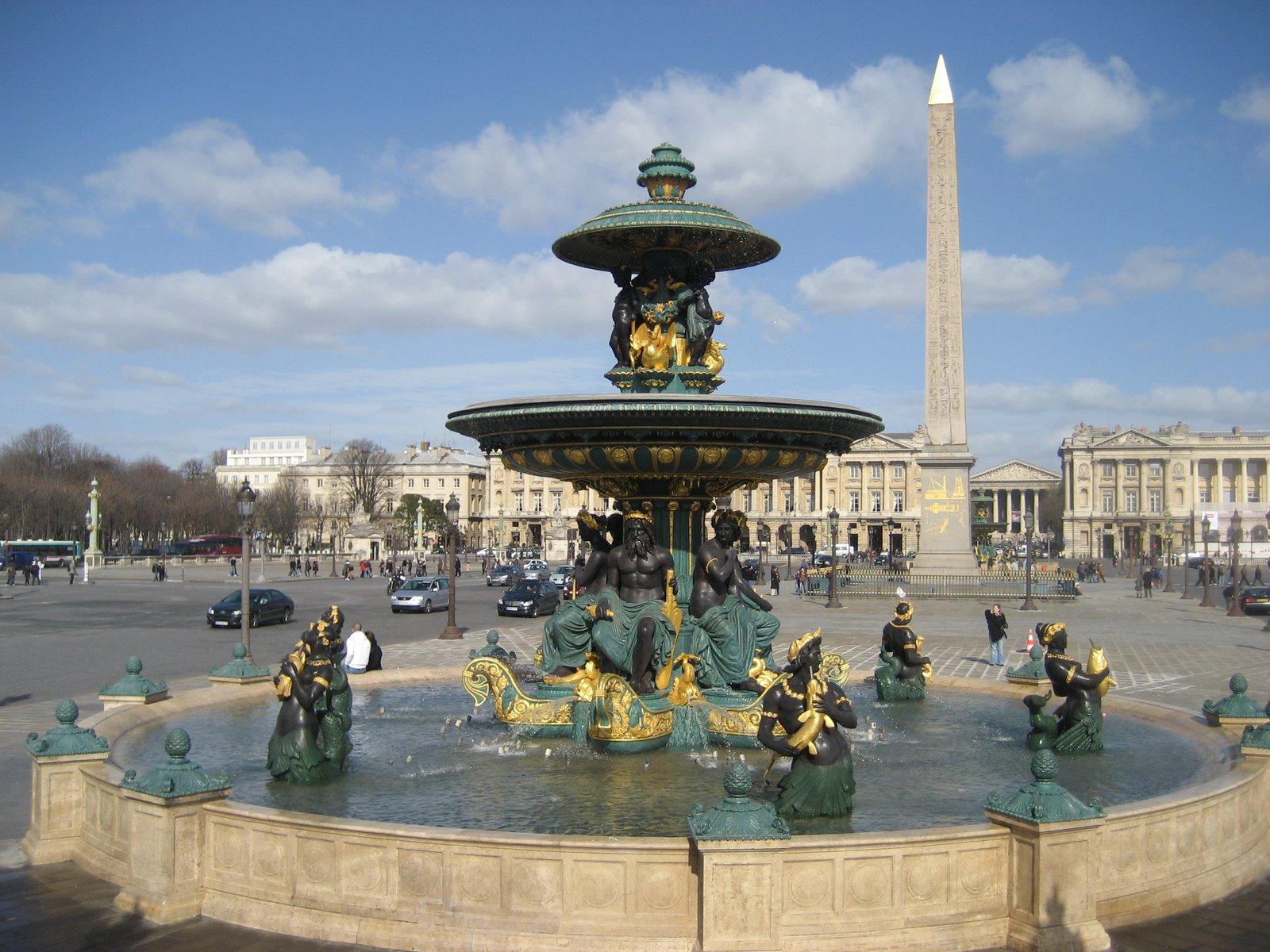 The Fountain on the Place de la Concorde