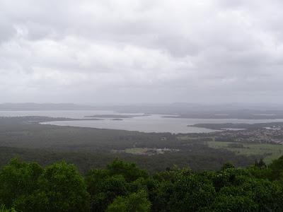 Lake Wallis from Cape Hawke Lookout