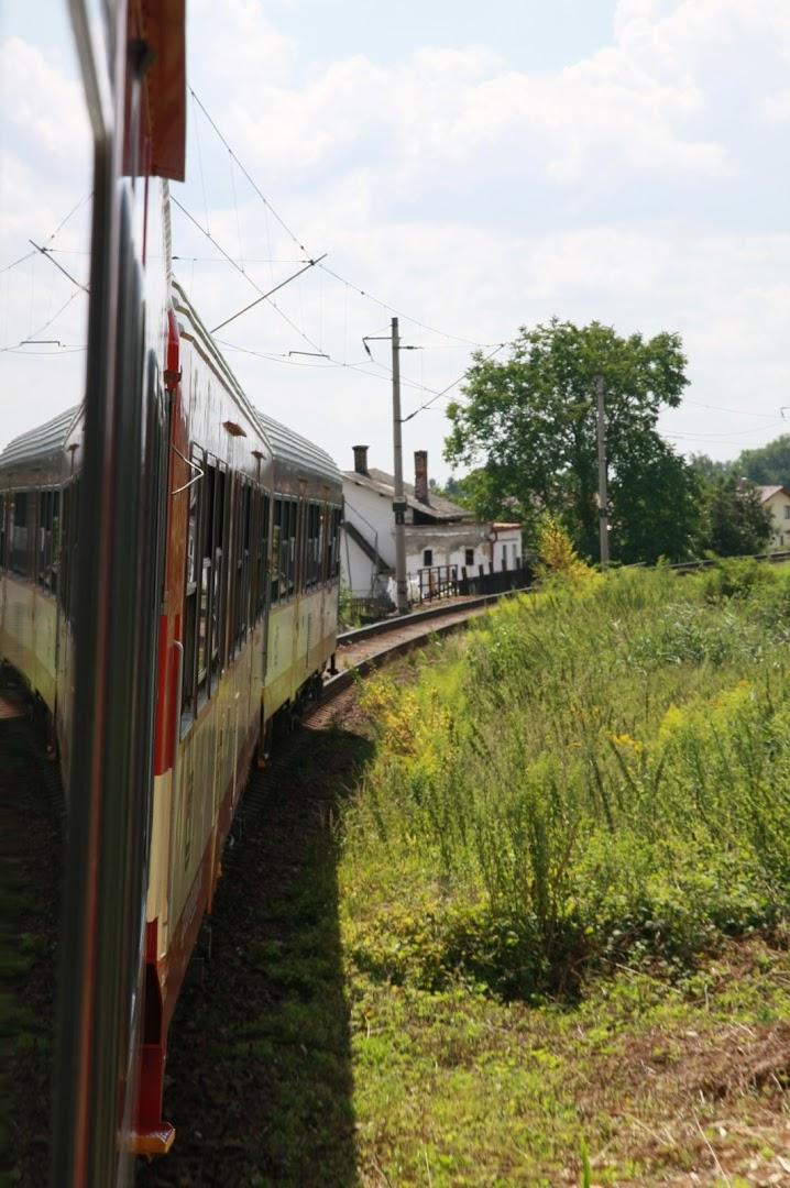 On the way to Jaroměř