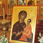Tikhvin Icon Donated to Cathedral of the Dormition of Most Holy Mother of God and Holy Royal Martyrs