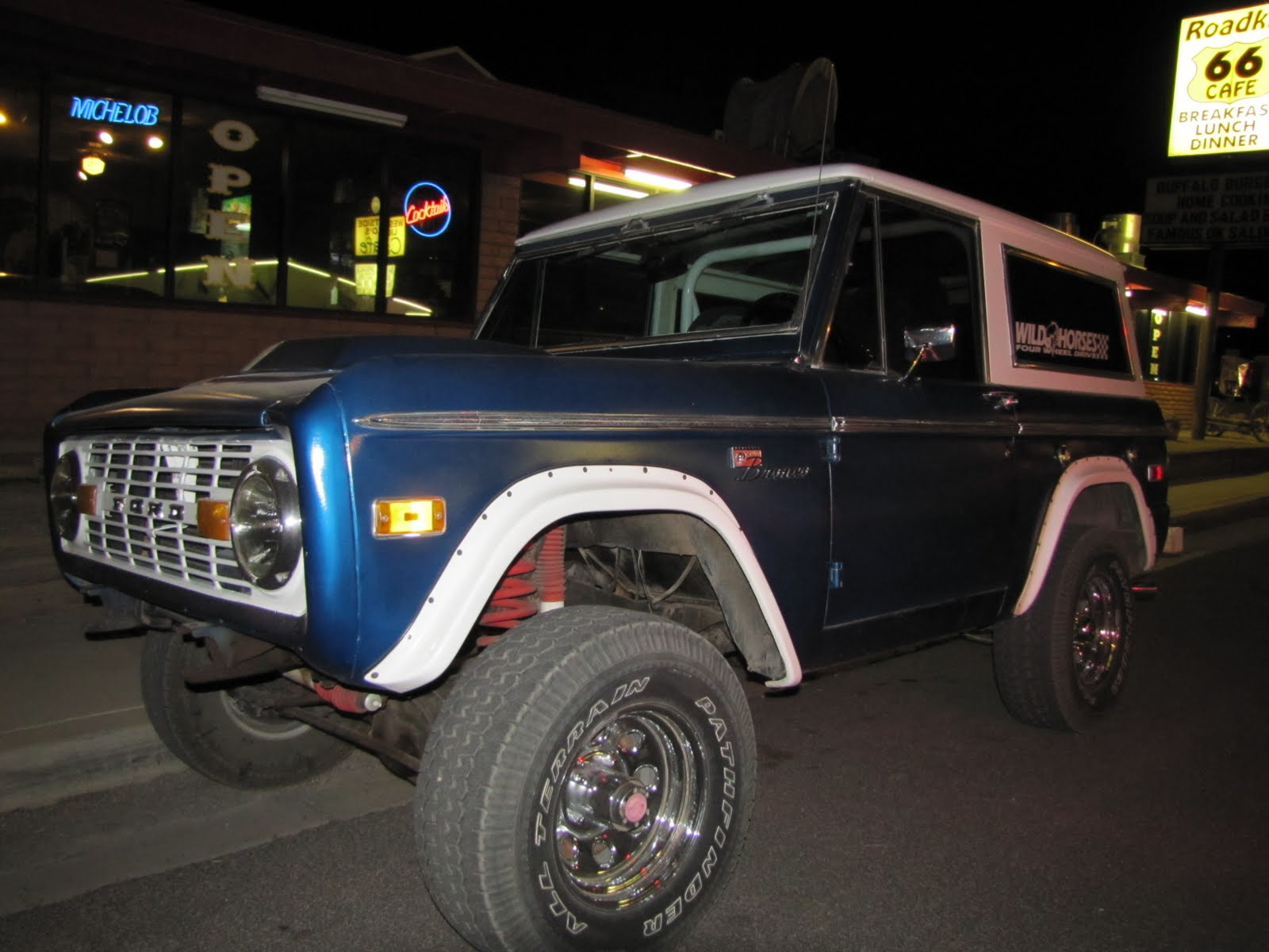 Route 66, Arizona, 1977 Ford Bronco
