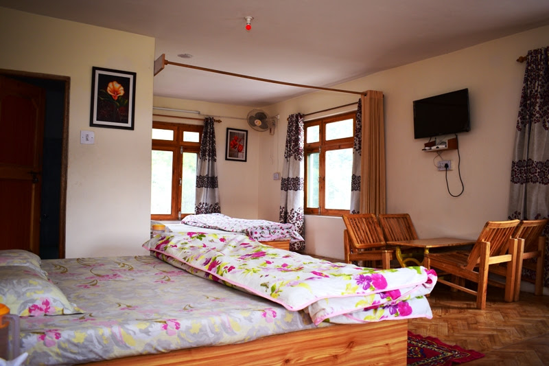 Deluxe Room Sunrise Manali