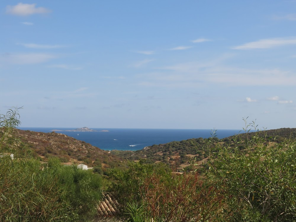 View from our B&B in Olbia