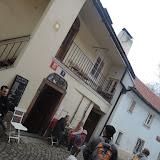 Našli jsme i dům U Zlaté hvězdy, ve kterém je dnes kavárna