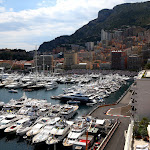 Monaco harbour overview (out of tunnel)