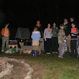 Závěrečný táborák - předávání diplomů a ocenění (4)