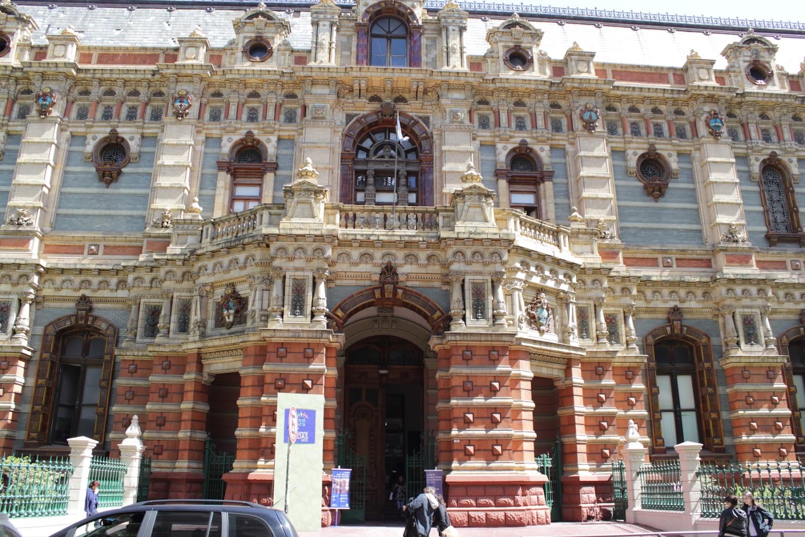 Palacio de Aguas Corrientes - The Palace of Flowing Waters