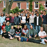 My spolu s našimi hostiteli z Sheffieldského Woodcraft Folku