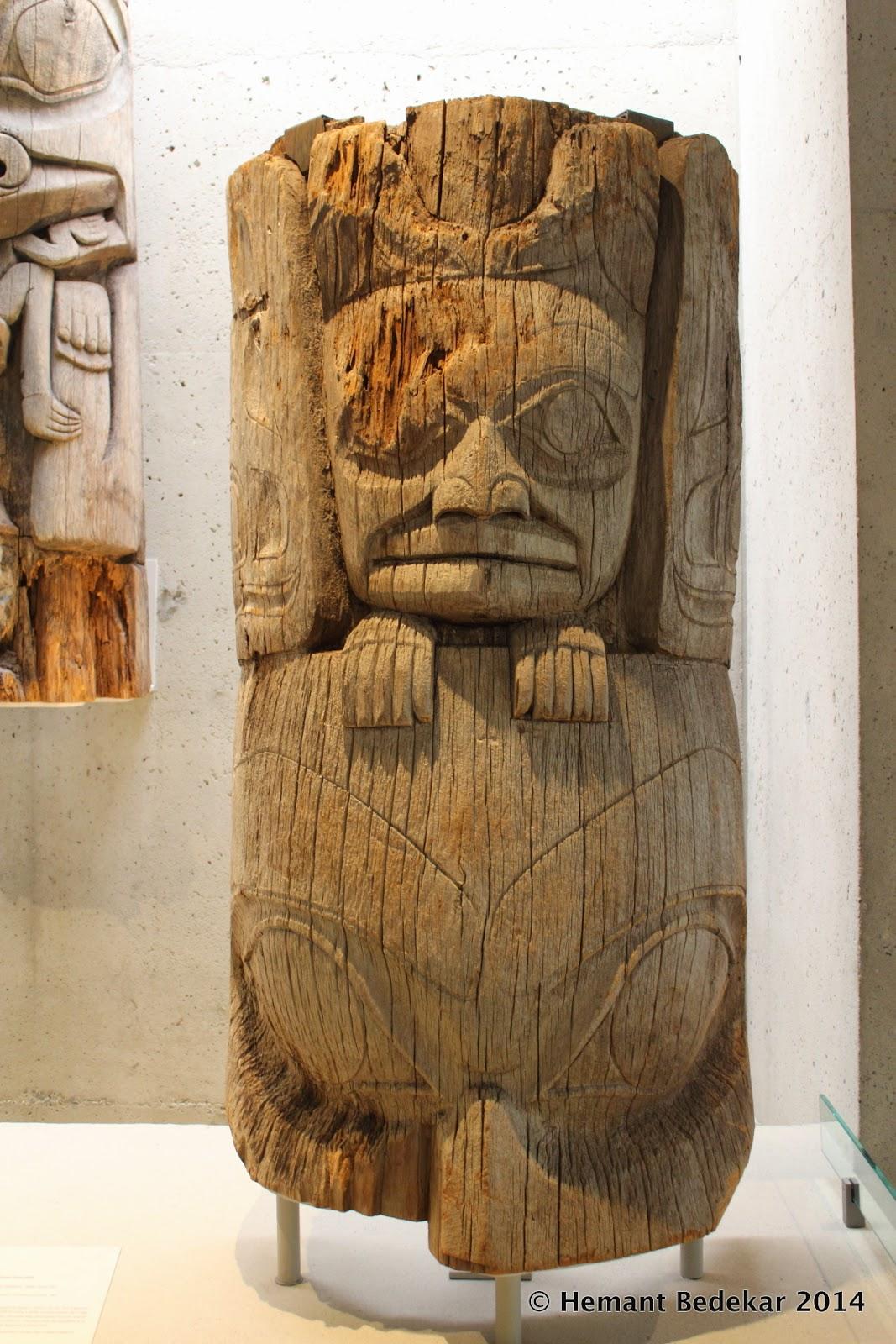 Totem Poles at University of British Columbia - Museum of Anthropology