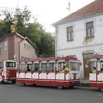 Városnéző kisvasút közlekedett a fesztivál ideje alatt