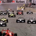 Start of 2001 Brazil F1 GP