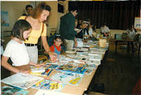 Fête du Livre 05 Exposition de livres 1997 Cossé