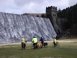 below Derwent Reservoir dam