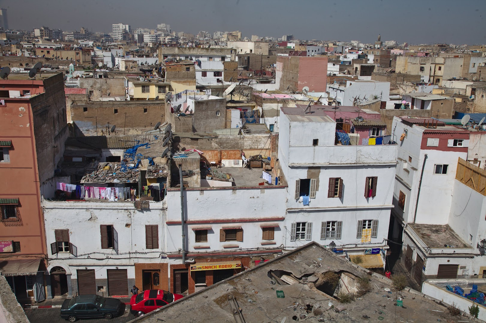 The famous Casablanca, one of the least pretty Moroccan cities