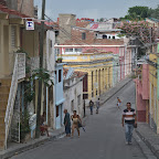 Santiago de Cuba is hilly