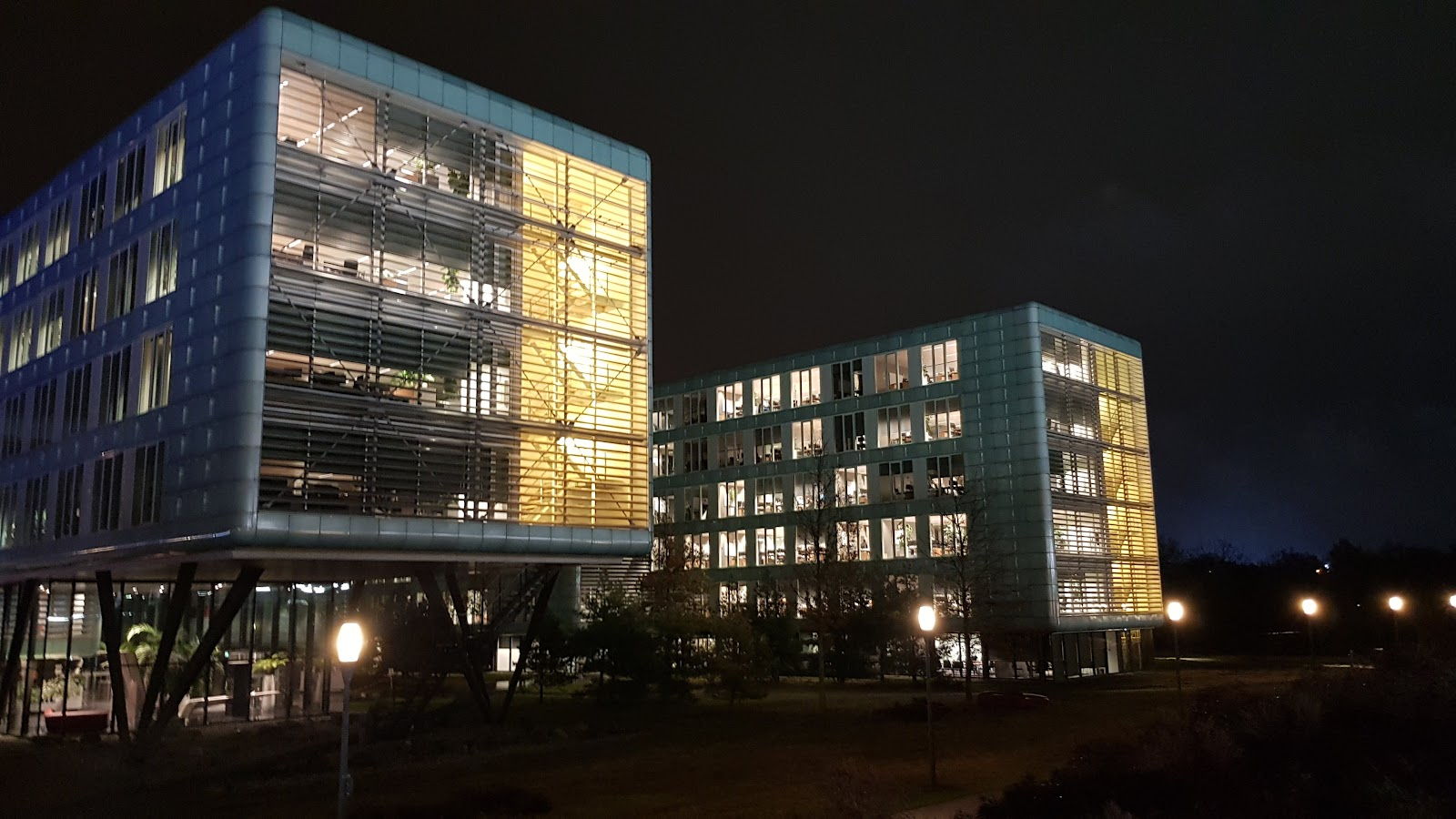 ASML by night