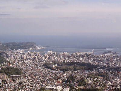 The view over Otaru