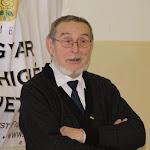 Buza Domonkos, a Magyar Mentálhigiénés Szövetség elnöke megnyitja a konferenciát
