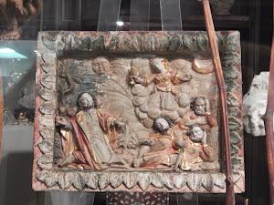 Антикварная панель ок.1750 г.