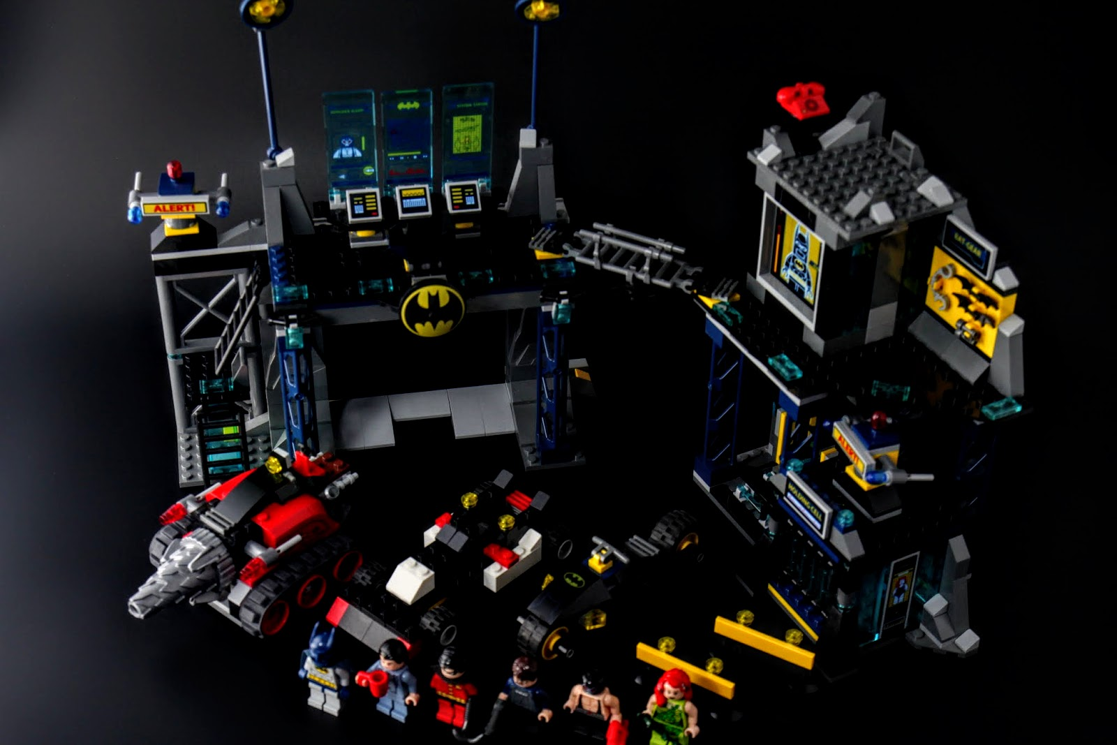 一天又這樣平安的過去,感謝蝙蝠俠&羅賓