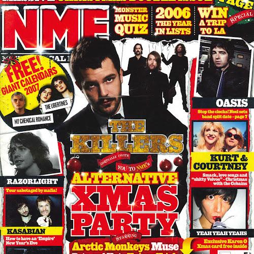 2006-12-16 NME - Copertina