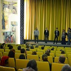 Equipe du film face au public avant le film