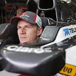 Nico Hulkenberg sitting in his C32