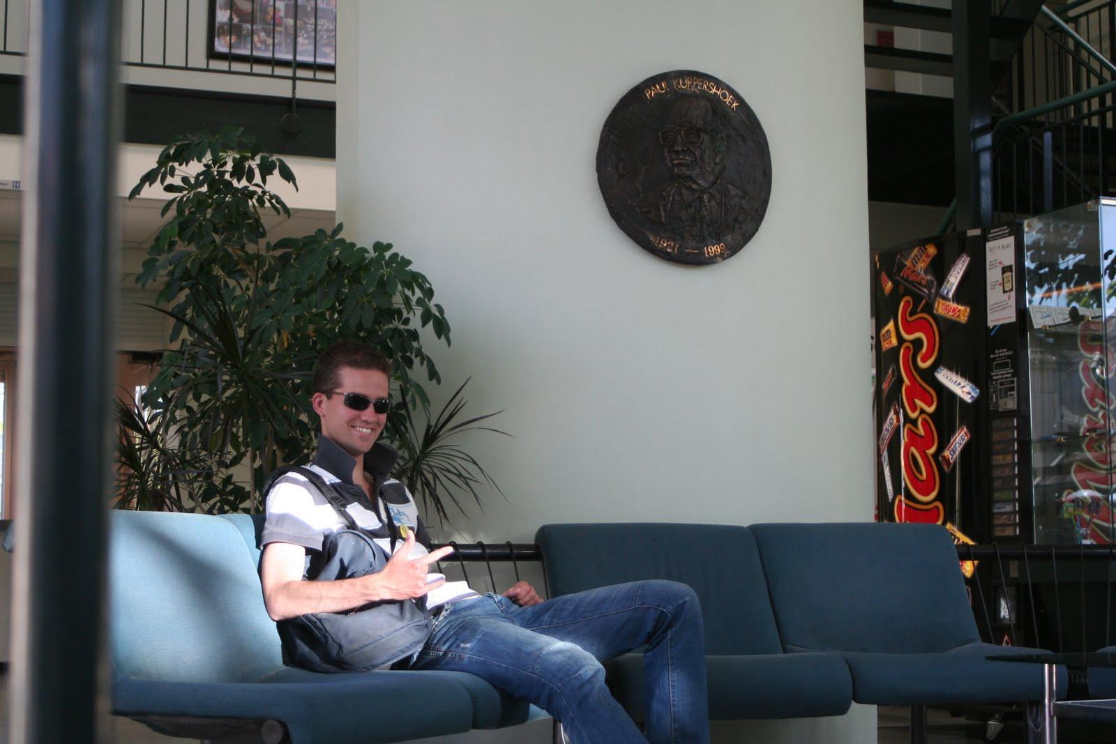 Maarten Lounched in de Waterstaatkerk