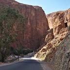 Entering Toudra Gorge