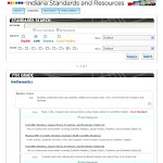 IN.gov- Indiana Standards and Resources-Standards Search And Results