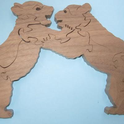 Puzzle Bear Cubs