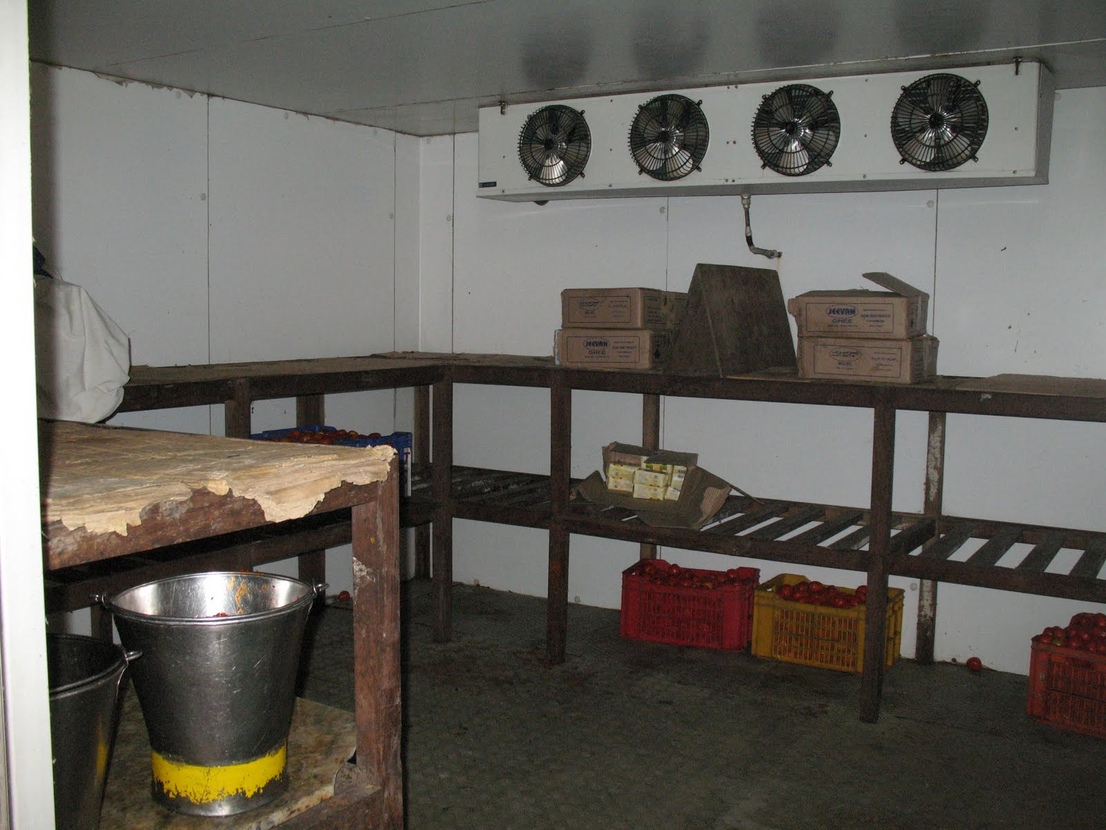 Storeroom of Sera Je Kitchen