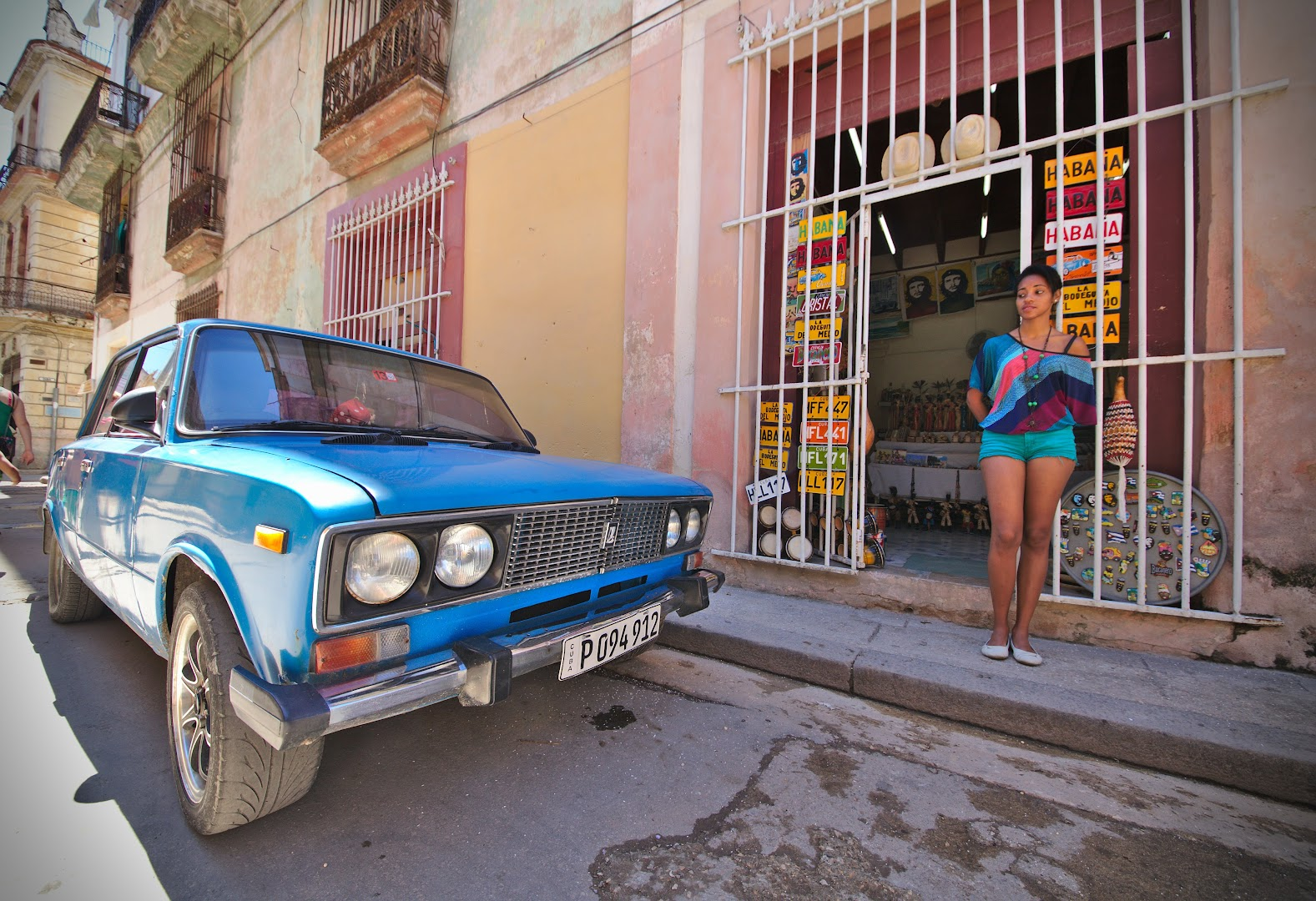 Cuba has either 1950s American cars or 1970s Soviet cars