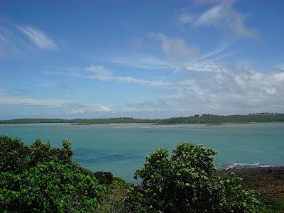 A look out near Sarina beach