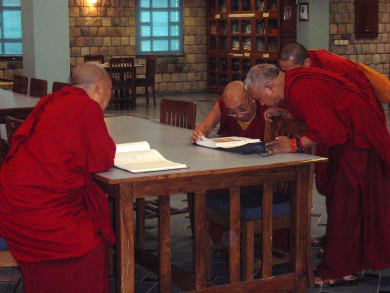 Dhakpa Rinpoche and Lama Zopa Rinpoche
