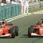 1-2 finish Barrichello & Schumacher for Ferrari