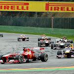 Fernando Alonso passed Mark Webber's Red Bull