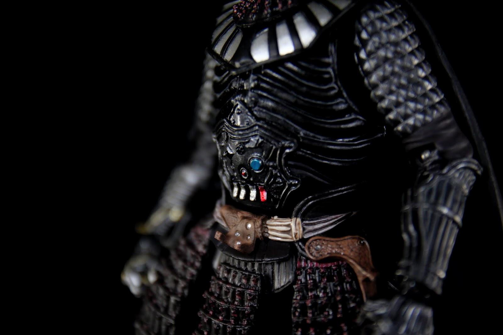 腹部原本黑武士的儀器跟甲冑融合得真好